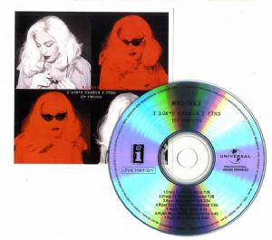 I DON'T SEARCH I FIND (REMIXES) - UNIVERSAL 7 TRACK PROMO CD